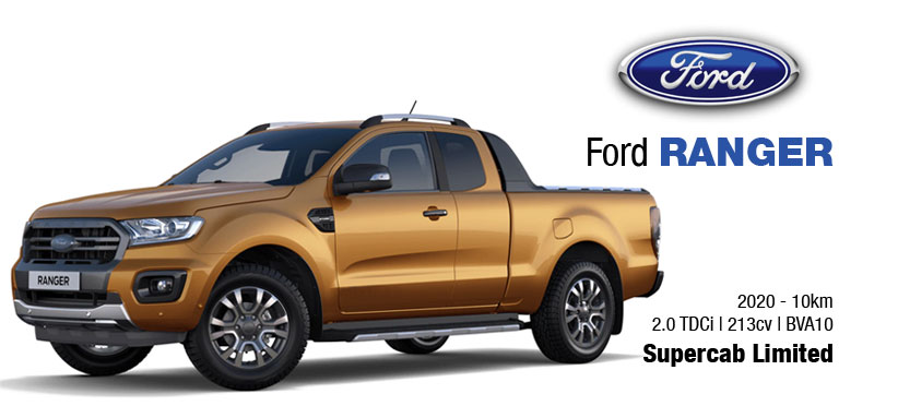 Ford Ranger supercab 2020